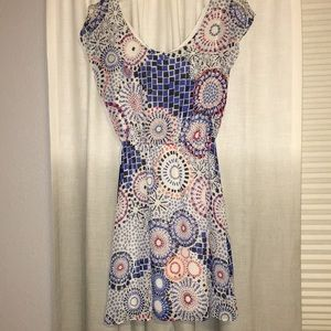 Spiral pattern dress. Brand new with tags.